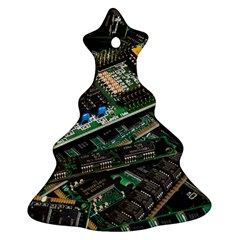 Computer Ram Tech Christmas Tree Ornament (Two Sides)