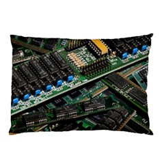 Computer Ram Tech Pillow Case (two Sides)