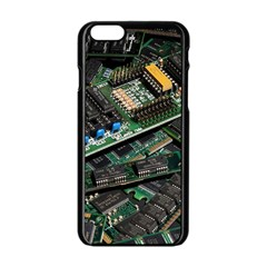 Computer Ram Tech Apple Iphone 6/6s Black Enamel Case