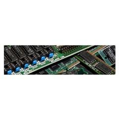 Computer Ram Tech Satin Scarf (oblong)