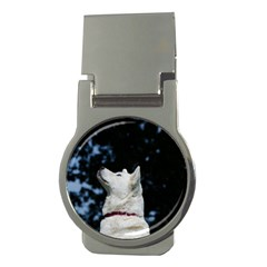 Akita Inu fifth Money Clips (Round)