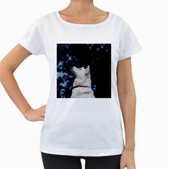 Akita Inu fifth Women s Loose-Fit T-Shirt (White)