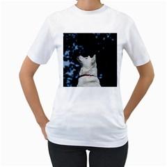 Akita Inu fifth Women s T-Shirt (White)