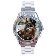 Berger Picard Stainless Steel Analogue Watch