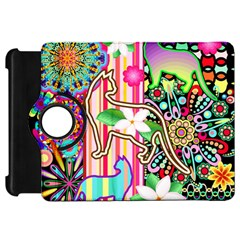 Mandalas, Cats and Flowers Fantasy Digital Patchwork Kindle Fire HD 7