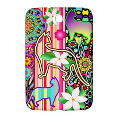Mandalas, Cats and Flowers Fantasy Digital Patchwork Samsung Galaxy Note 8.0 N5100 Hardshell Case