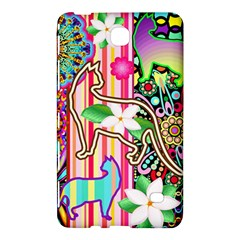 Mandalas, Cats and Flowers Fantasy Digital Patchwork Samsung Galaxy Tab 4 (7 ) Hardshell Case