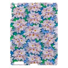 Plumeria Bouquet Exotic Summer Pattern  Apple iPad 3/4 Hardshell Case