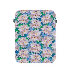 Plumeria Bouquet Exotic Summer Pattern  Apple iPad 2/3/4 Protective Soft Cases