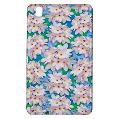 Plumeria Bouquet Exotic Summer Pattern  Samsung Galaxy Tab Pro 8.4 Hardshell Case