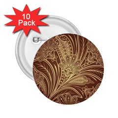 Beautiful Patterns Vector 2 25  Buttons (10 Pack)