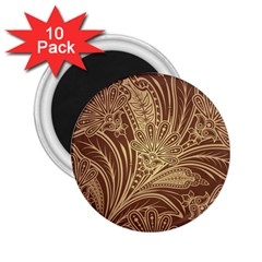 Beautiful Patterns Vector 2 25  Magnets (10 Pack)