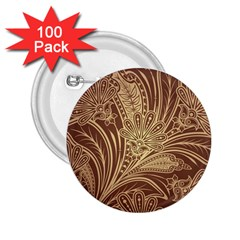 Beautiful Patterns Vector 2 25  Buttons (100 Pack)