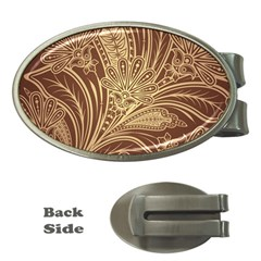 Beautiful Patterns Vector Money Clips (Oval)