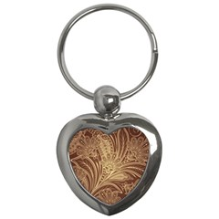 Beautiful Patterns Vector Key Chains (Heart)