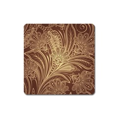 Beautiful Patterns Vector Square Magnet