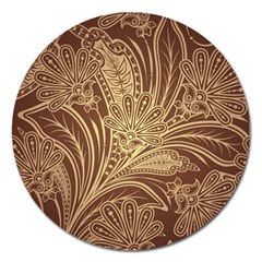 Beautiful Patterns Vector Magnet 5  (Round)