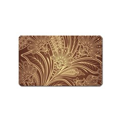 Beautiful Patterns Vector Magnet (name Card)