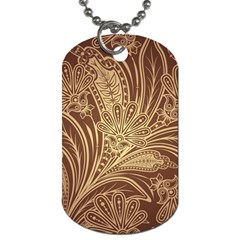 Beautiful Patterns Vector Dog Tag (one Side)
