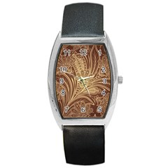 Beautiful Patterns Vector Barrel Style Metal Watch
