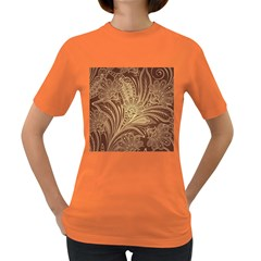 Beautiful Patterns Vector Women s Dark T-Shirt