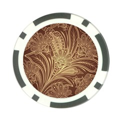 Beautiful Patterns Vector Poker Chip Card Guard
