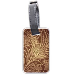 Beautiful Patterns Vector Luggage Tags (one Side)