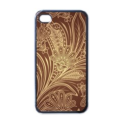 Beautiful Patterns Vector Apple iPhone 4 Case (Black)