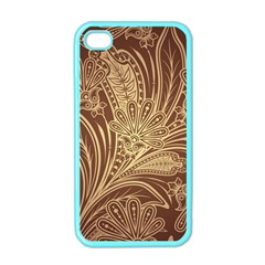 Beautiful Patterns Vector Apple Iphone 4 Case (color)