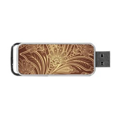 Beautiful Patterns Vector Portable Usb Flash (two Sides)