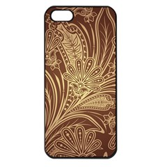 Beautiful Patterns Vector Apple Iphone 5 Seamless Case (black)