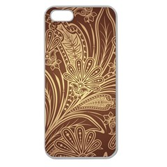 Beautiful Patterns Vector Apple Seamless iPhone 5 Case (Clear)