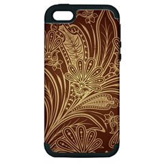 Beautiful Patterns Vector Apple Iphone 5 Hardshell Case (pc+silicone)