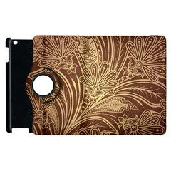 Beautiful Patterns Vector Apple Ipad 3/4 Flip 360 Case