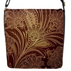 Beautiful Patterns Vector Flap Messenger Bag (S)