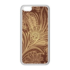 Beautiful Patterns Vector Apple iPhone 5C Seamless Case (White)