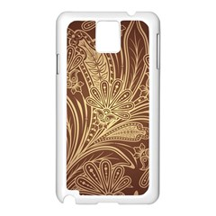 Beautiful Patterns Vector Samsung Galaxy Note 3 N9005 Case (white)
