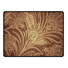 Beautiful Patterns Vector Double Sided Fleece Blanket (small)