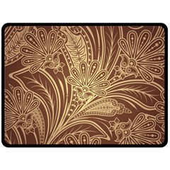 Beautiful Patterns Vector Double Sided Fleece Blanket (large)