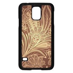 Beautiful Patterns Vector Samsung Galaxy S5 Case (black)