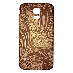 Beautiful Patterns Vector Samsung Galaxy S5 Back Case (white)