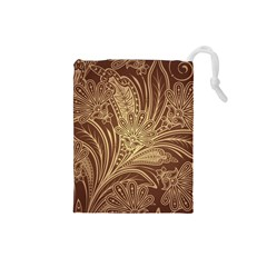 Beautiful Patterns Vector Drawstring Pouches (small)