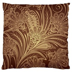 Beautiful Patterns Vector Large Flano Cushion Case (one Side)