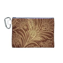 Beautiful Patterns Vector Canvas Cosmetic Bag (m)