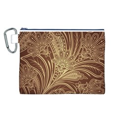 Beautiful Patterns Vector Canvas Cosmetic Bag (l)