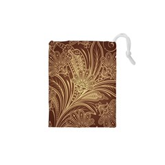 Beautiful Patterns Vector Drawstring Pouches (XS)