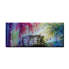 Bench In Spring Forest Cosmetic Storage Cases