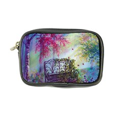 Bench In Spring Forest Coin Purse