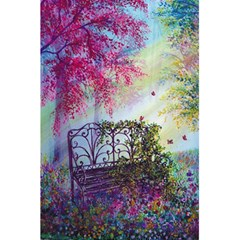 Bench In Spring Forest 5 5  X 8 5  Notebooks