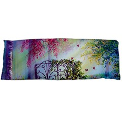 Bench In Spring Forest Body Pillow Case Dakimakura (Two Sides)